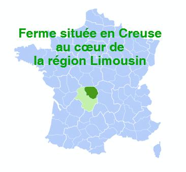 Ferme agriculture biologique en Creuse